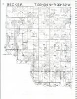 Map Image 001, Cass County 1981
